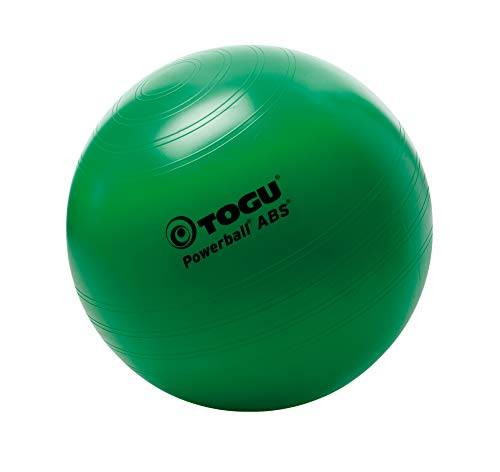 togu, fitball powerball abs, verde (grn), 55 cm