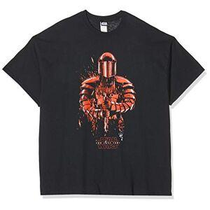 CID VIII The Last Jedi Star Wars T-Shirt, Nero, XL Uomo