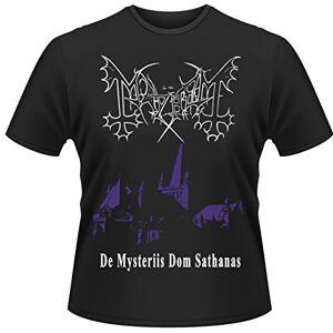 Head Plastichead - Mayhem De Mysteriis Dom Sathanas, T-shirt da uomo, manica corta, Nero, XX-Large