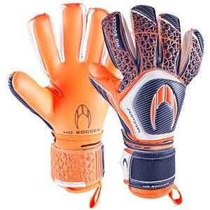 Ho soccer Sentinel Negative Guanti di Portiere, Unisex Adulto, Unisex Adulto, 0510627, Arancione/Blu/Bianco, 8.5