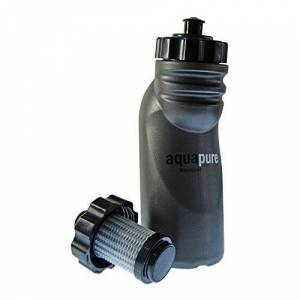 3M Pure Hydration Aquapure Traveller Water Bottle - Blue - One Size