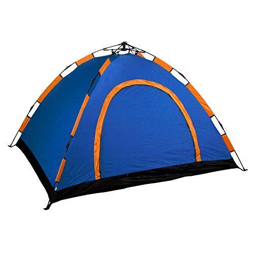 aktive-tenda da campeggio igloo 200x 200x 100cm-4persone, automontable e colore: blu, 85078