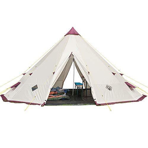skandika, tenda da campeggio tipii 301, beige (sand)