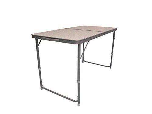 ferrino tavolo pieghevole da campeggio e giardino, tavolo, unisex, grigio