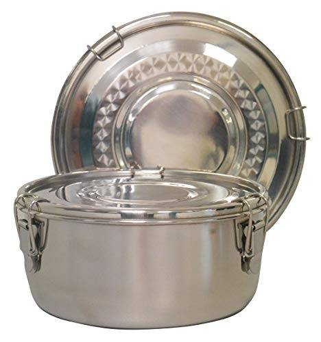 relags edelstahl 'food container' -mittel, barattolo unisex-adulto, argento, 0.8 liter
