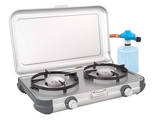 campingaz fornello da campeggio cucina 2 cv, fornello a gas portatile 4.000w, compatto griglia outdoor