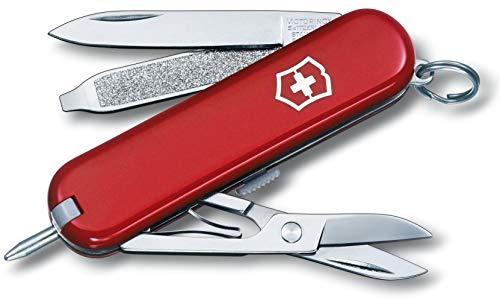 victorinox - coltellino multiuso 58mm - signature rosso v-0.6225