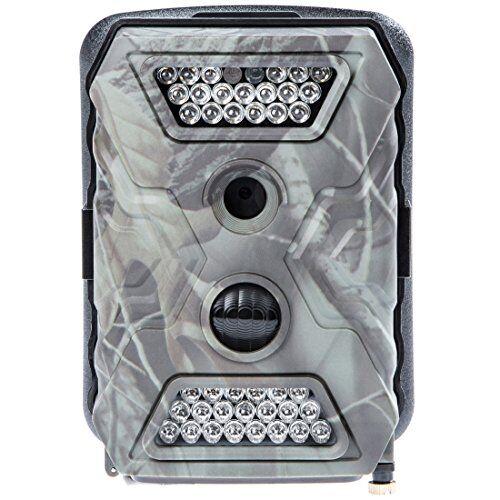 ultrasport umove secure guard pro (ready), videocamera di sorveglianza/mimetica, videocamera da esterni con sensore di movimento, pro ready incl. batterie e scheda di memoria sd 16 gb  spy cam con risoluzione full hd, chiaro led