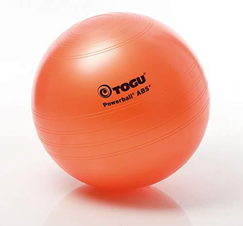 togu, fitball powerball abs, arancione (terra), 45 cm