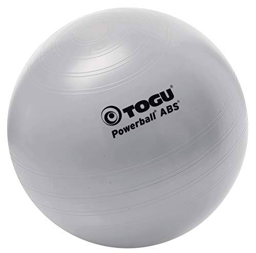 togu, palla da fitball, argento (silber), 75 cm