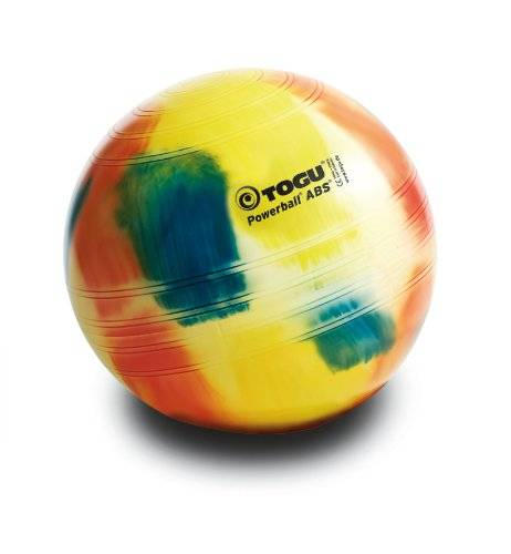 togu, fitball powerball abs, multicolore (marble), 65 cm