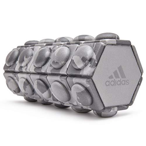 adidas foam roller, rullo di schiuma unisex adulto, grigio, mini