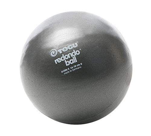 togu, fitball redondo palla, grigio (anthrazit), 18 cm