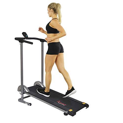 sunny health and fitness sunny health & fitness sf-t1407m - tapis roulant pieghevole manuale