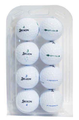 Second Chance Srixon, Set 48 Palline da Golf, Categoria B Unisex, Bianco