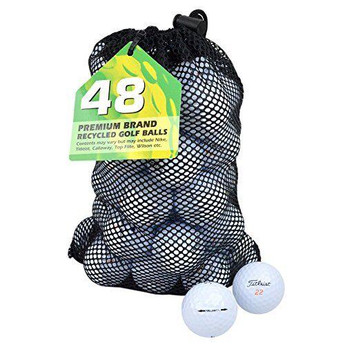 Second Chance Titleist Velocity, Set 24 Palline da Golf, Categoria A Unisex, Bianco