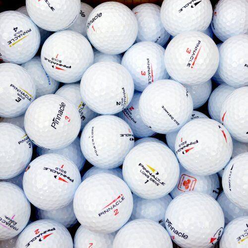 Second Chance Pinnacle, Set 100 Palline da Golf, Categoria A Unisex, Bianco