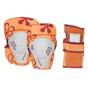 Powerslide, Set protezioni per bambini, Arancione (Orange), XXS