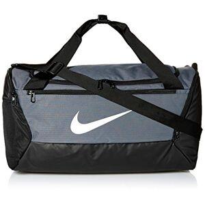 Nike NILCO #Nike BRSLA Duff 9.0 Zaino Zaino Unisex, Unisex  Adulto, Flint Grey/Black/White, One size