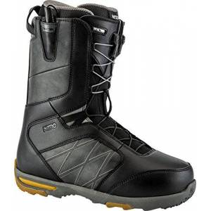 Nitro Snowboards Nitro X6Anthem TLS Stivali, Uomo, Uomo, 848407_315_Black-Charcoal, Nero/Carbone, 315