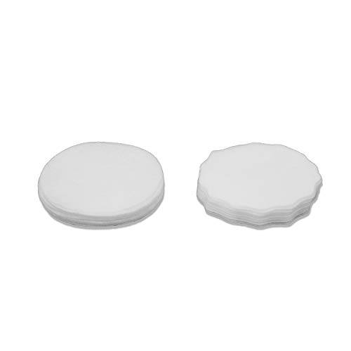 botect, kit 25 ricariche filtri monouso mascherina unisex  adulto, bianco, one size
