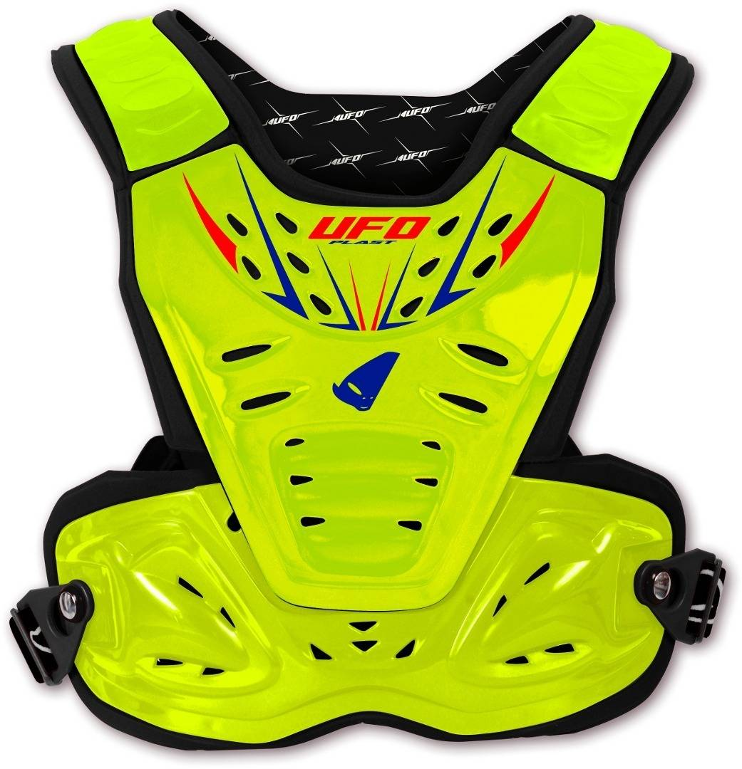 UFO Reactor 2 Evolution Pettorina Motocross Giallo unica taglia