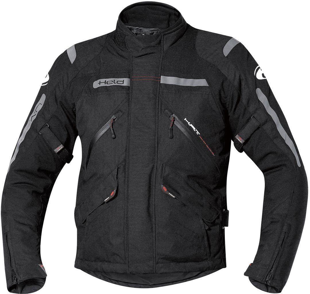 Held Black 8 Giacca moto in tessuto