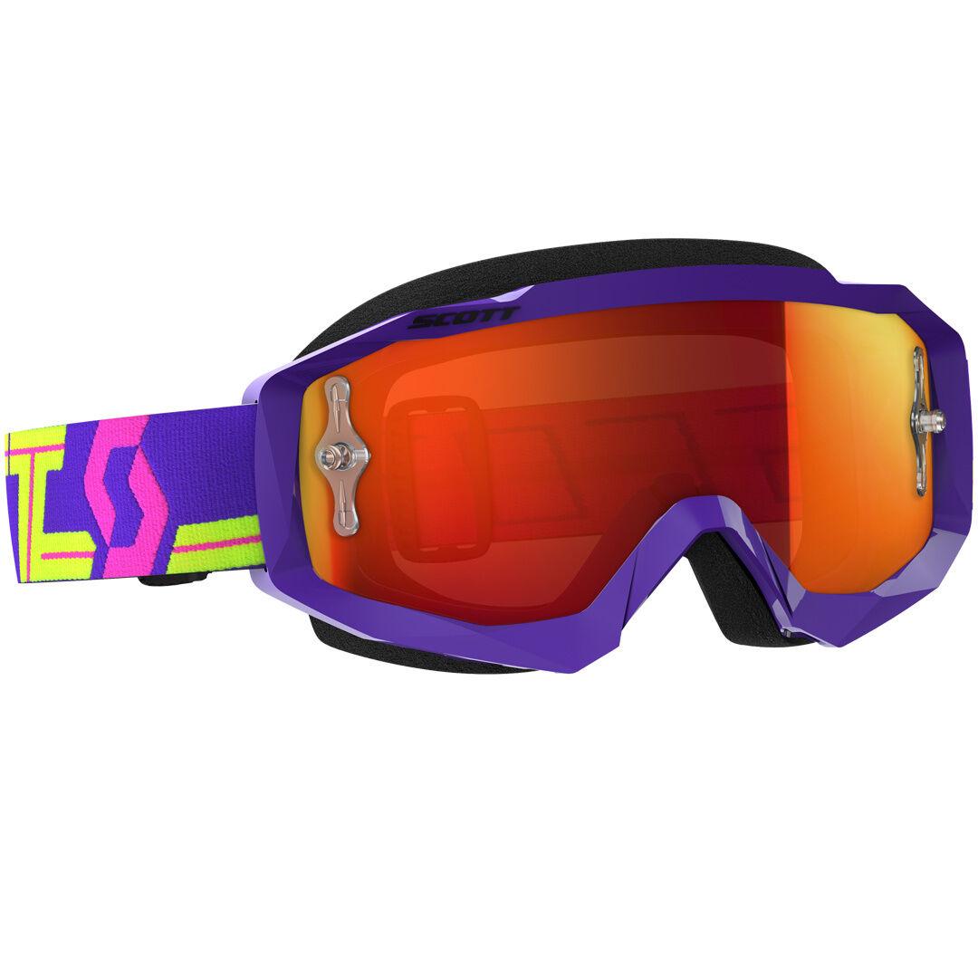 Scott Hustle MX Motocross occhiali Chrome