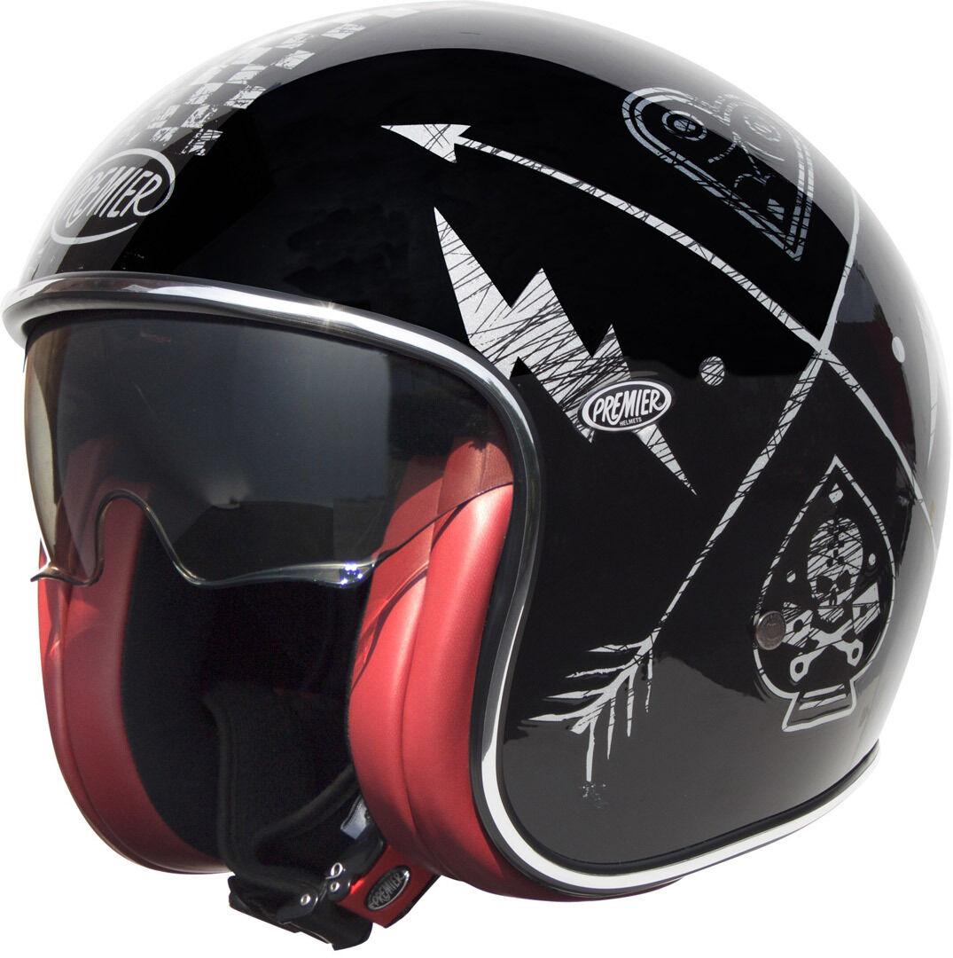 Premier Vintage NX Jet Helmet Elmetto jet