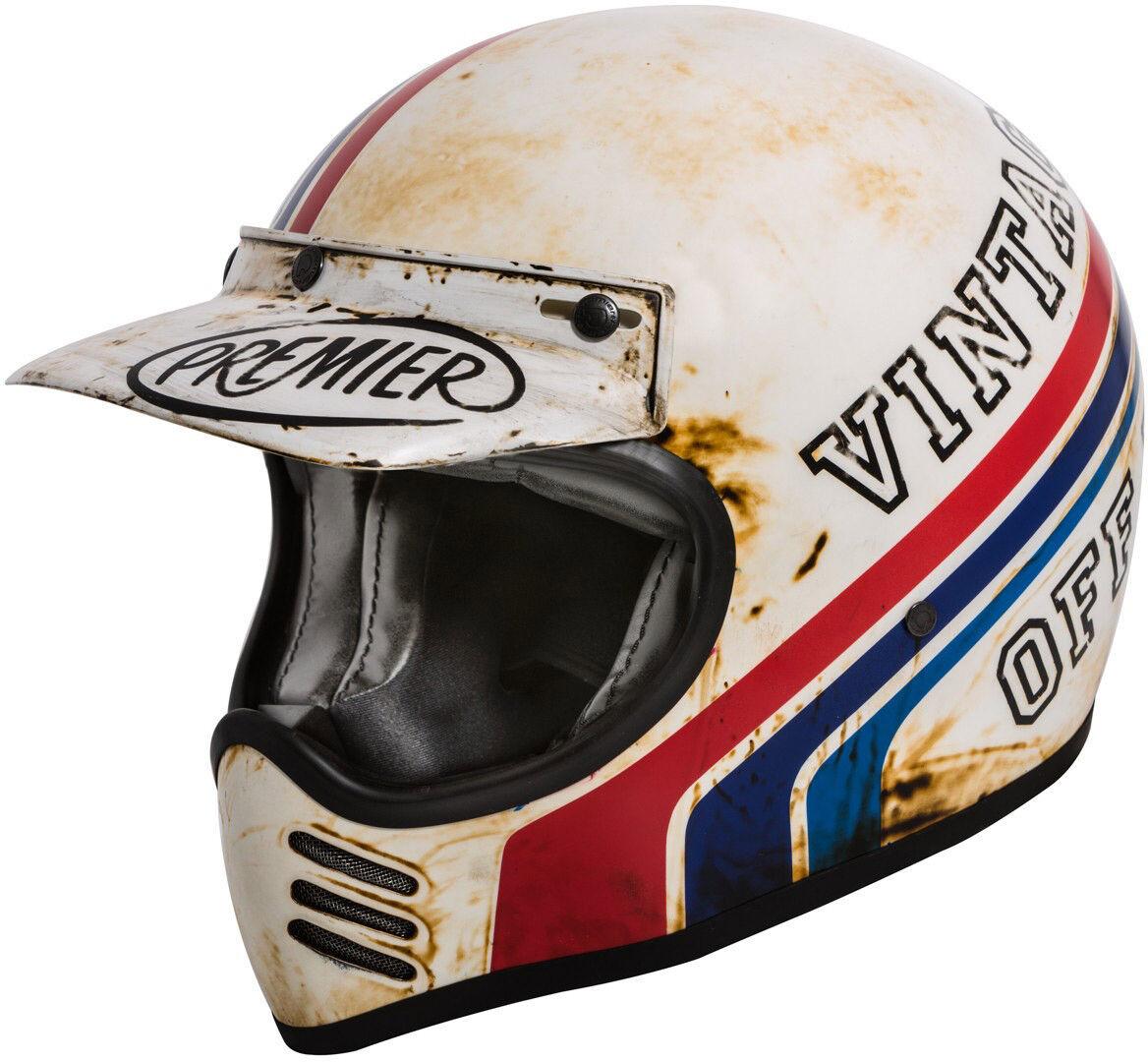 Premier Trophy MX BTR 8 BM Motocross Helmet Casco motocross
