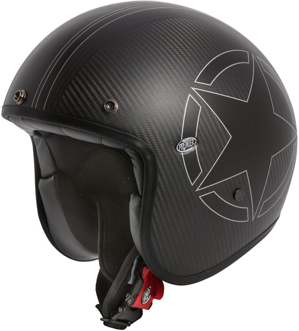 Premier Le Petit Star Carbon BM Jet Helmet Elmetto jet