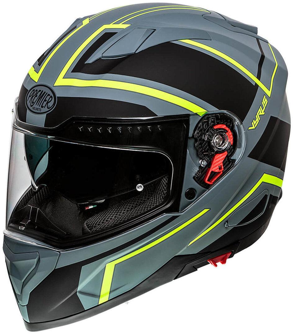 Premier Vyrus ND Y Grey BM Helmet Casco