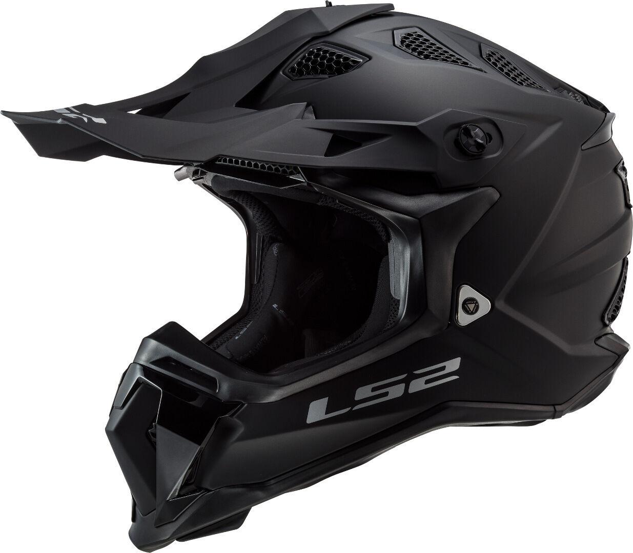 LS2 MX470 Subverter Noir Casco motocross