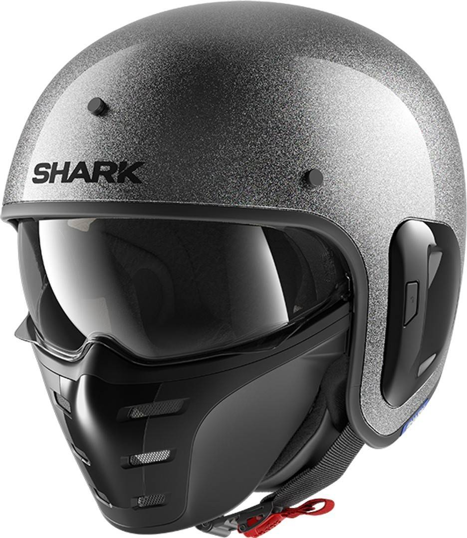 Shark S-Drak 2 Glitter Jet Helmet Casco a getto
