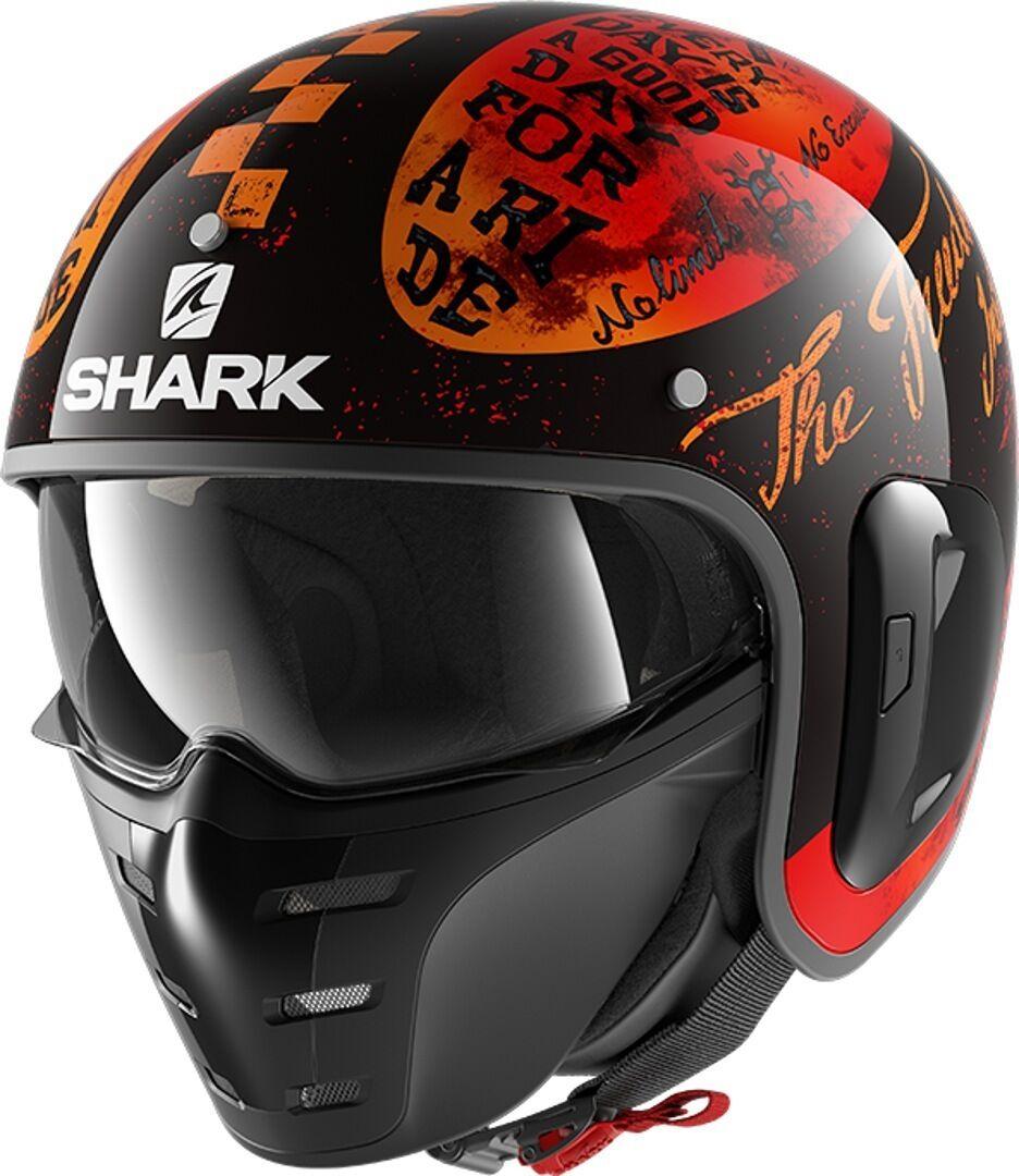 Shark S-Drak 2 Tripp In Jet Helmet Casco a getto
