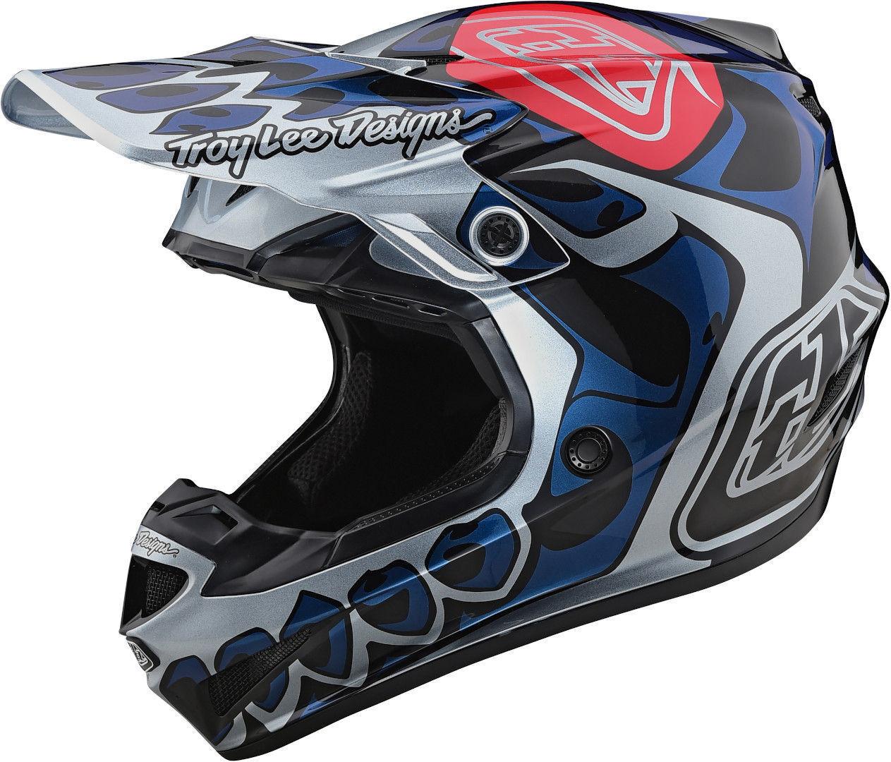Lee SE4 PA Skully Casco Motocross