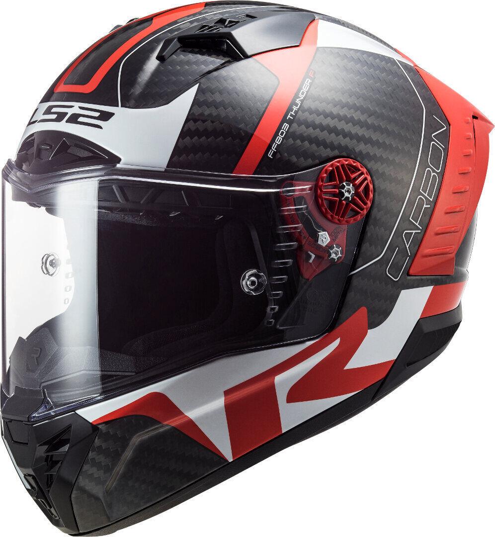 LS2 FF805 Thunder Racing1 Carbon Casco