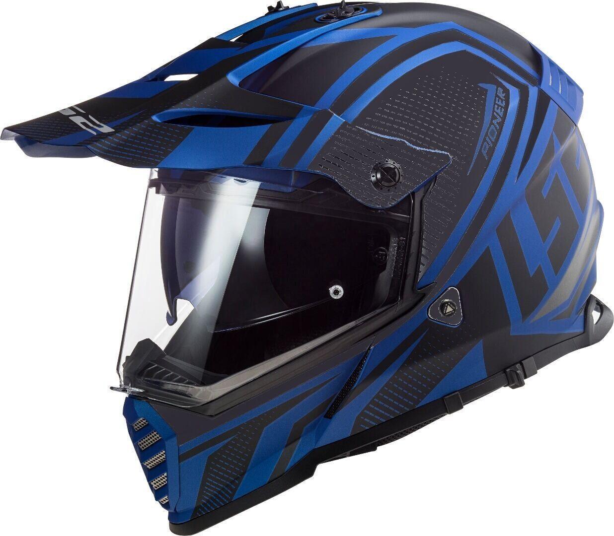 LS2 MX436 Pioneer Evo Master Casco Motocross