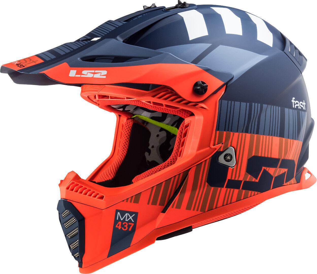 LS2 MX437 Fast Evo XCode Casco Motocross