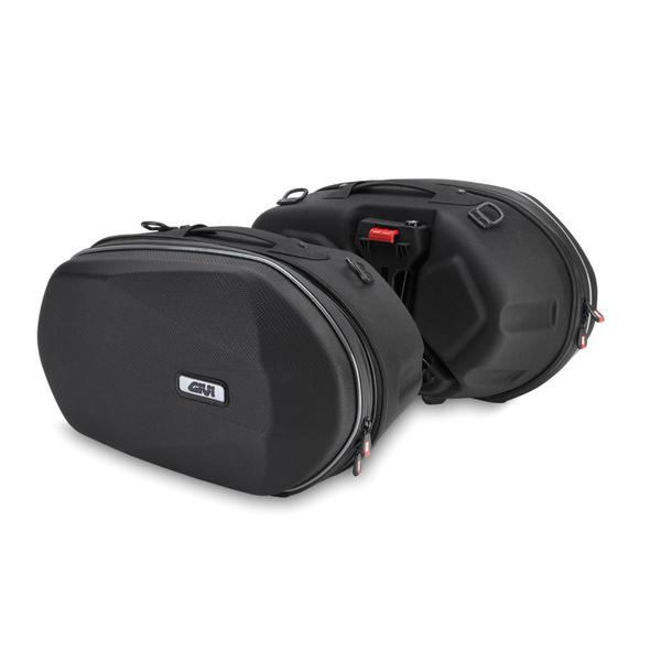 Givi 3D600 Easylock Coppia borse a Bisaccia Nero 41-50l