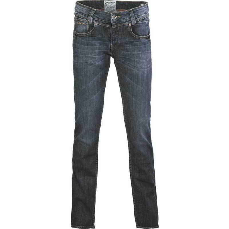 Scott Denim Slim Signore pantaloni Blu 28