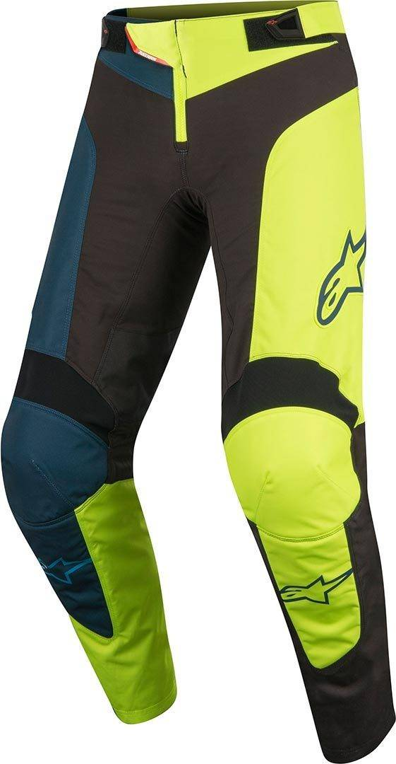 Alpinestars Vector Bambini bicicletta pantaloni Nero Giallo 28