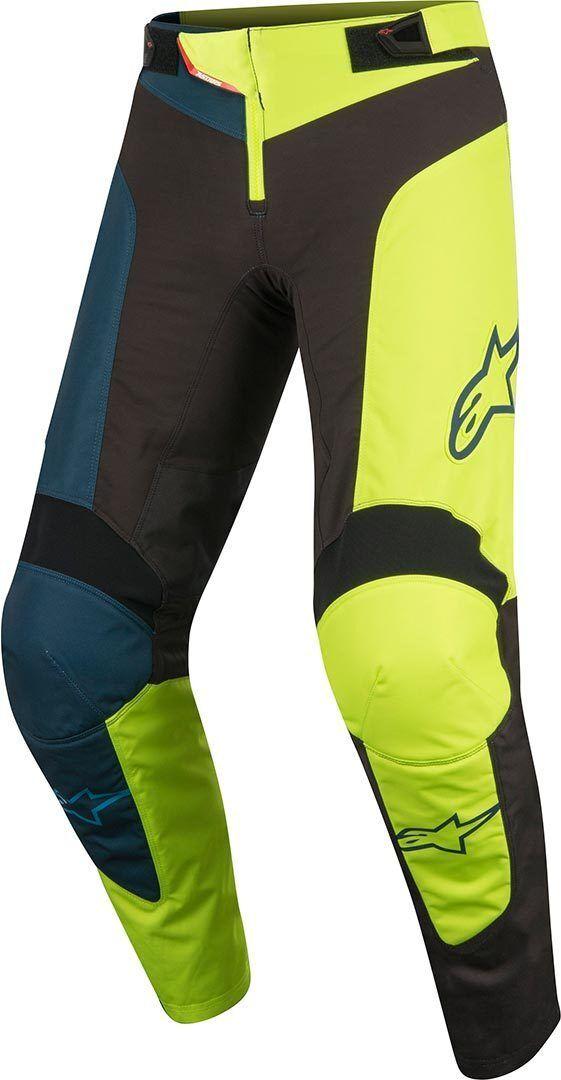 Alpinestars Vector Bambini bicicletta pantaloni Nero Giallo 26