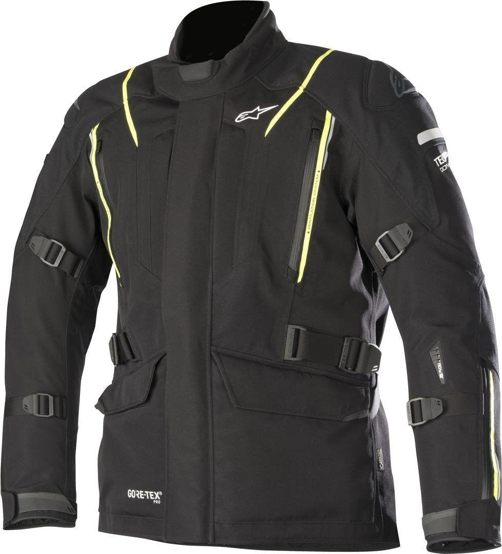 Alpinestars Big Sure Gore-Tex Pro Tech-Air Giacca moto in tessuto Nero Giallo XL