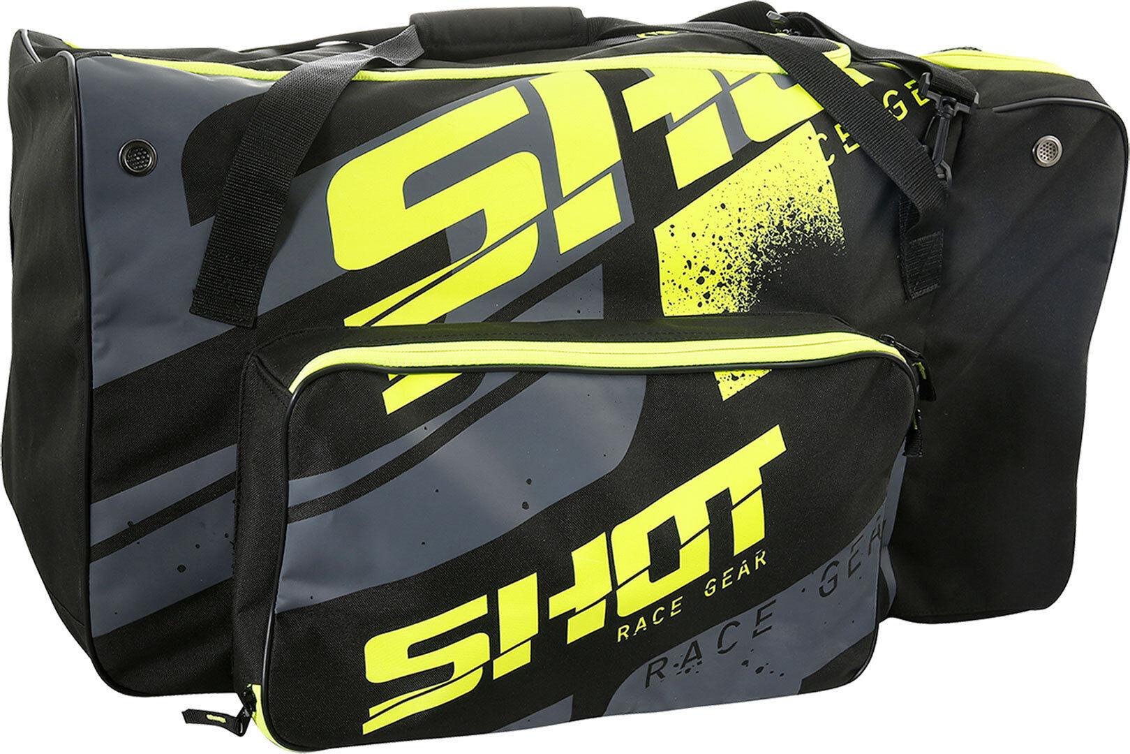Shot Sport Borsa Nero Giallo unica taglia