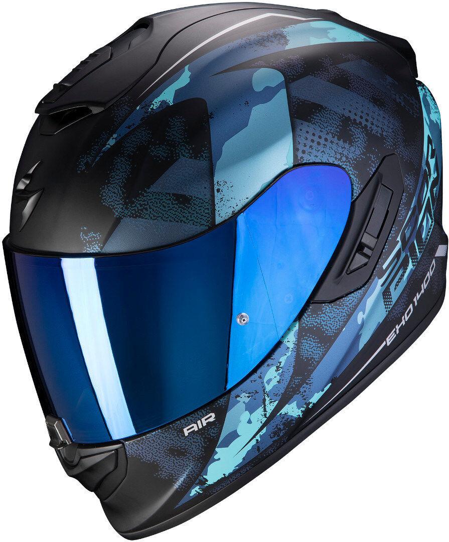 Scorpion EXO 1400 Air Sylex casco Nero Blu 2XL