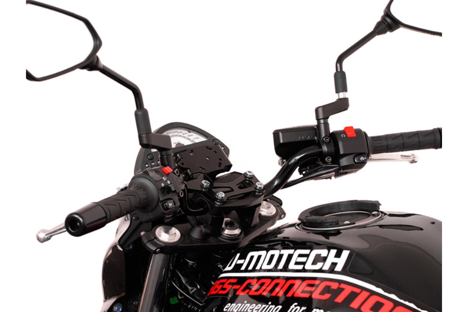 SW-Motech Adattamento per Garmin zumo GPS Monte Nero