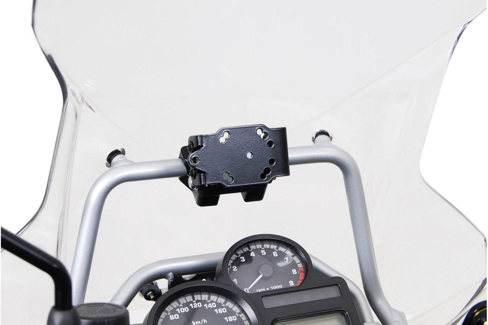 SW-Motech Supporto di GPS per traversa Ø 17 mm urto assorbente - BM...