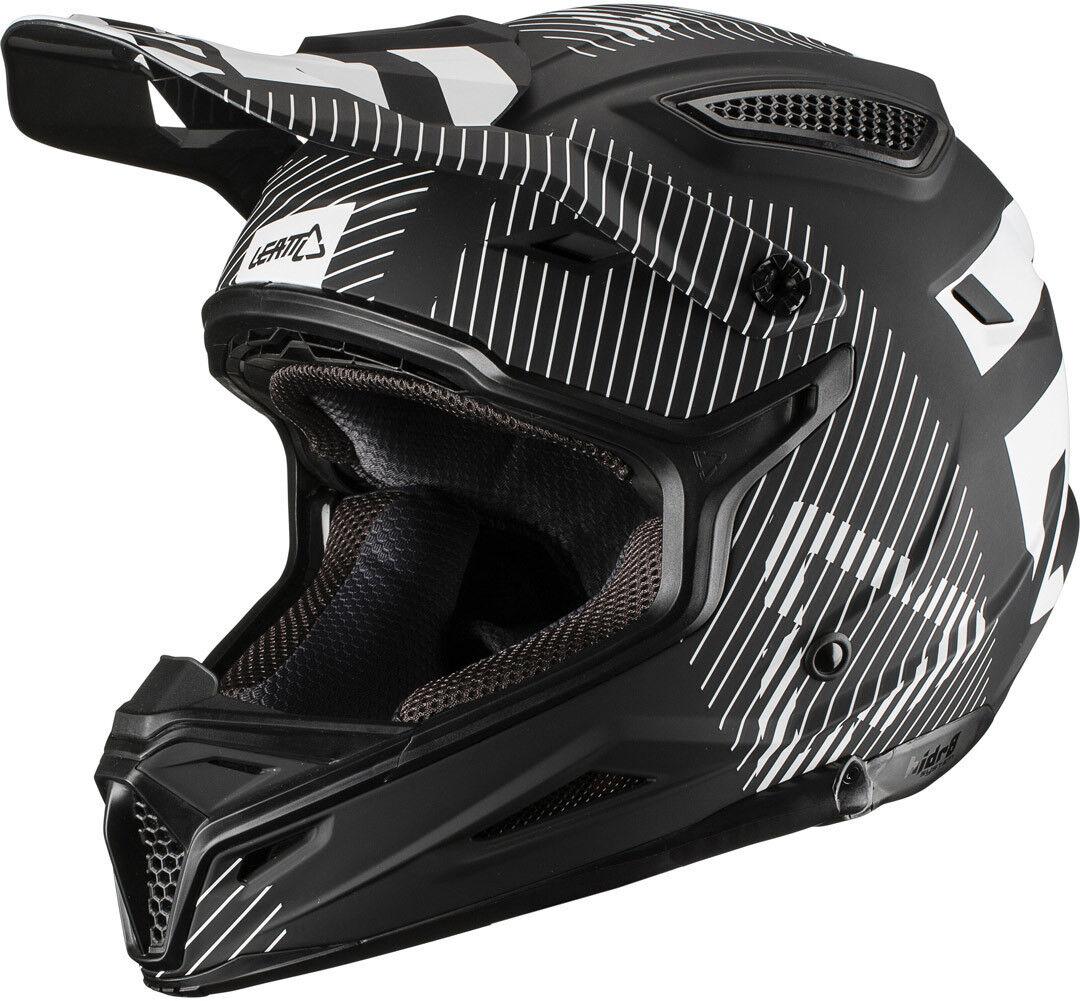 Leatt GPX 4.5 ECE V19.2 Bambini Motocross casco Nero L