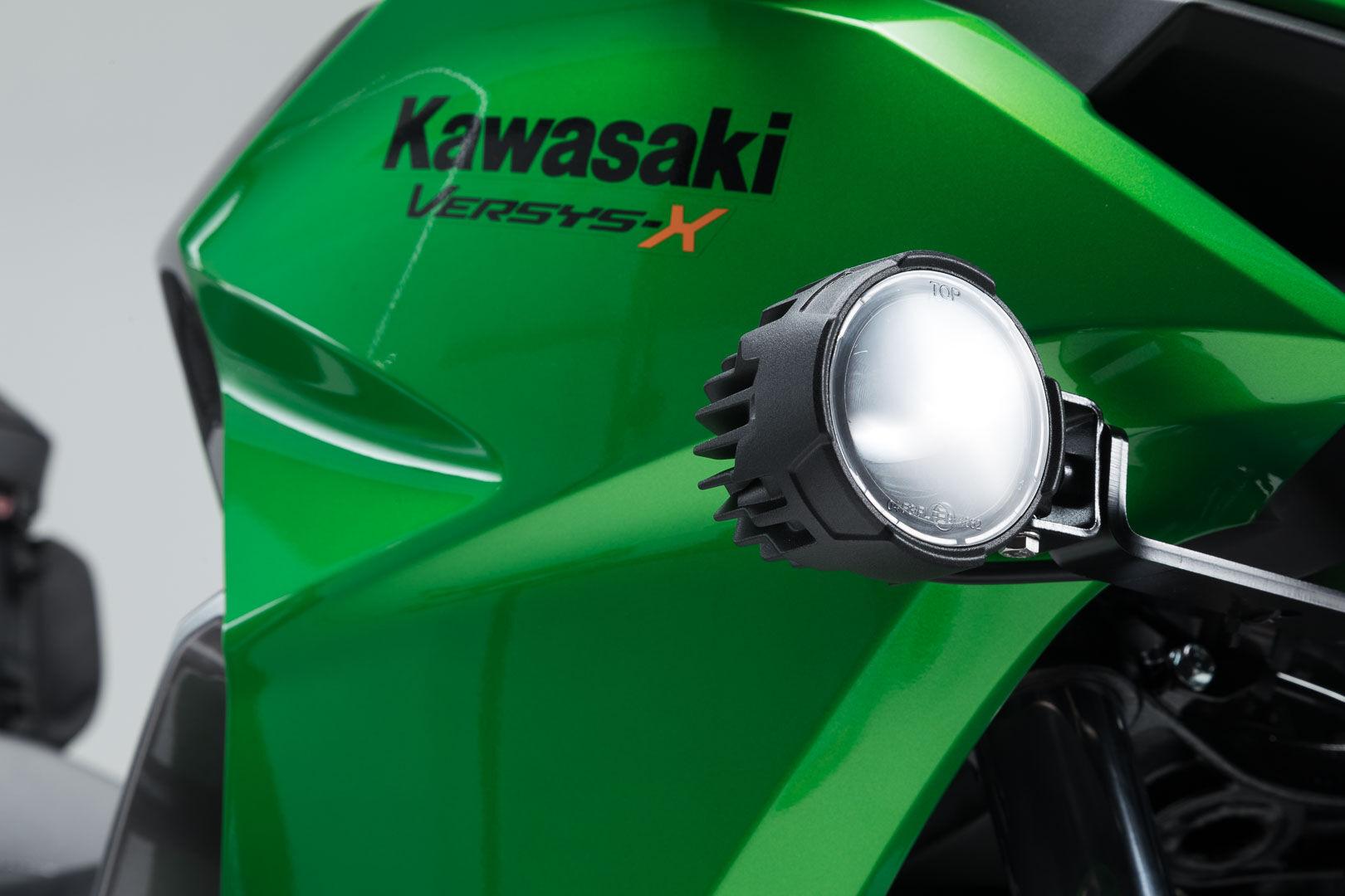 SW-Motech EVO abbaglianti kit nero - Kawasaki Versys-X300 ABS (16-)